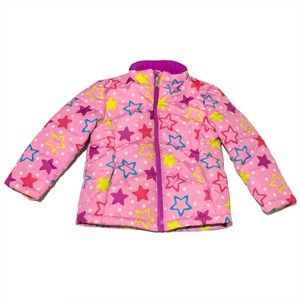 Toddler Size 3T Pink Puffer Jacket